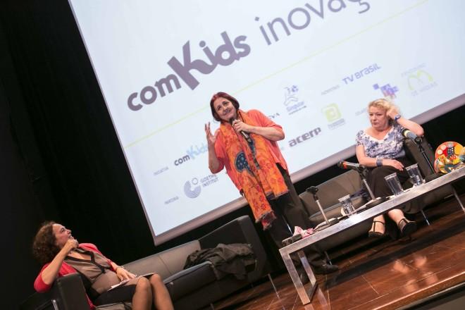 Chiqui González - comKids Inovação - Foto: Danila Bustamante