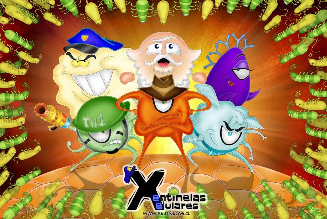 Xentinelas Xelulares (1º lugar, Categoria Games comKids 2013) Dir.: Pablo Rosenblatt Guelfenbein, Prod.: Pontificia Universidad Católica de Chile